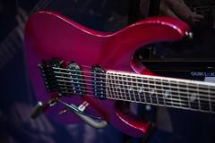 Caparison TAT7 (paul_ouzounov) Tags: musician music shop guitar bare knuckle guitars jackson custom esp prs namm kiesel 2016 carvin strandberg aristides zeiss55mm sonya7 namm2016