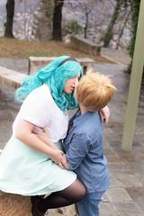 DSC_4055 (XRavenheartPH) Tags: moon cute girl couple cosplay persone haruka yuri cosplayer sailor neptune uranus michiru allaperto