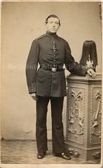 Einjhrig Freiwilliger preuischer Infanterist um 1870 (Der deutsche Soldat von 1860 bis 1918) Tags: soldat militr prussia 1870 preussen preusen einjhriger