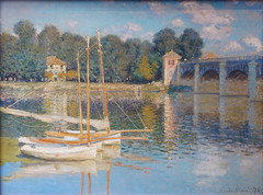 Monet, The Argenteuil Bridge, 1874