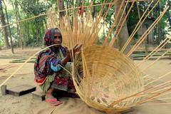 Weaver Women (zisanulhaider_bd) Tags: beautiful nice women bamboo aged