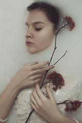 Alyona (ivankopchenov) Tags: portrait water girl beautiful milk mood fineart