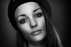 Asia B&W (orma_marco) Tags: portrait blackandwhite woman girl flash ritratto retouching lampista strobist