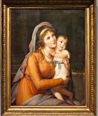 Elisabeth Vige Le Brun. Anna Stroganova - 1795-1801 (Grangeburn) Tags: baby art portraits geotagged oilpaintings motherandchild worksofart frenchartist elisabethvigelebrun
