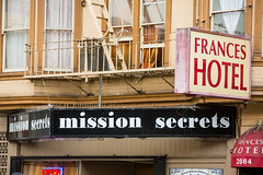 Mission (Thomas Hawk) Tags: sanfrancisco california usa america unitedstates unitedstatesofamerica mission missiondistrict fav10 franceshotel missionsecrets