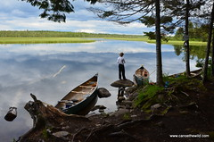 St-Croix-river, Maine-campsite