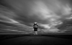 Loneliness (Explored) (Eduardo Regueiro) Tags: longexposure sky lighthouse byn clouds faro corua galicia caboortegal
