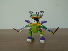 LEGO MIXELS TAPSY GURGGLE MIX or MURP ? Instructions Lego 41561 Lego 41549 (Totobricks) Tags: make mix lego howto instructions build series7 mixies murp series6 41549 41561 tapsy gurggle mixels legomixels glorpcorp totobricks lego41549 lego41561