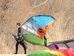 Kite surfers (ptcruiser4dogs) Tags: kite color sailing sunday sails kitesurfing sail okc lakehefner kitesurfers kiteboarders