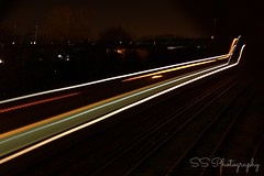 Train (shereensykes) Tags: longexposure nightphotography train canon photography lighttrails canonphotography canon1200d