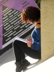 Student Life (KevinWatson.net) Tags: barcelona shadow sun student february economics 2016 universitatpompeufabra societatpatriarcal