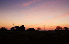 Sunset Barn (nigdawphotography) Tags: sunset sky cloud barn farm essex arable