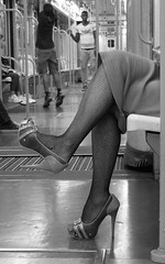 Le gambe delle donne... (emilype) Tags: people woman milan feminine milano bn explore voyeur donne mm urbanjungle attimi bnvitadistrada explore20160208