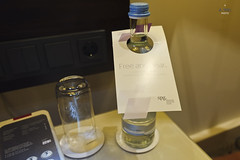 Complimentary bottled water (A. Wee) Tags: water germany hotel bottle europe lemeridien     stuttgart