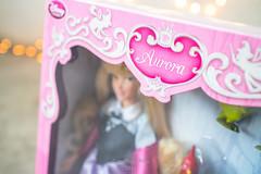 Beauty in her box (Rodfhaii) Tags: pet friend disney aurora sleepingbeauty disneystore disneyprincess disneydoll briarrose