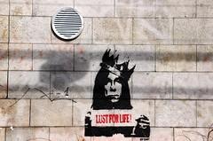 Street art Ipop Lust for life dav (Skeudenn Spered) Tags: life street art for lust dav ipop