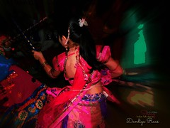 Indian folk dance (shouq.metaki) Tags: old pink blue girls people india black classic feet colors girl hair person dance movement hands education women hand body folk indian traditional culture move womens human stick apples conventional hear dandiya imitator oldish raas رقص هندي dandiyaraas شعبي قديم تراث ثقافة