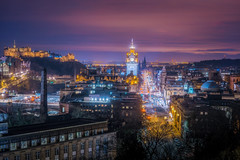 Edinburgh City Centre (Princes Street) (Photography Revamp) Tags: longexposure nightphotography night scotland nikon edinburgh unitedkingdom gb nightexposure nikond7100 nikond7200