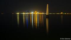 Hobsons Bay, Port Melbourne. (kensol72) Tags: longexposure night port fuji australia melbourne victoria fujifilm portmelbourne fujinon xe2