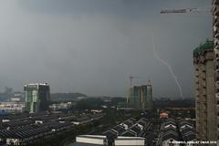 March 5 2016 Lightning (Shamsul Hidayat Omar) Tags: light weather photography nikon raw day ken malaysia lightning omar selangor shah alam rimba hidayat greatphotographers kilat shamsul d800e