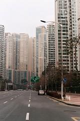 Jamshil Towers (Lig Ynnek) Tags: street tower film 35mm canon apartment seoul southkorea eos1 portra400 jamshil