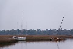 AshleyRiver (lightpainter) Tags: sailboat river marsh sunken