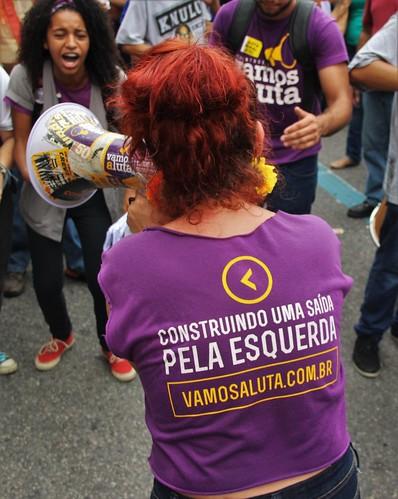 Ato dos secundaristas do Rio de Janeiro