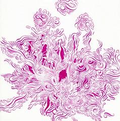 Dark Pink (Alkaline Samurai) Tags: practice inkart arlendean alkalinesamurai