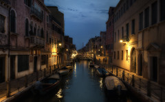 When the Night Falls (Frags of Life) Tags: street venice art water architecture night boats lights canal bravo colorful sony a7 fe1635mmf4zaoss