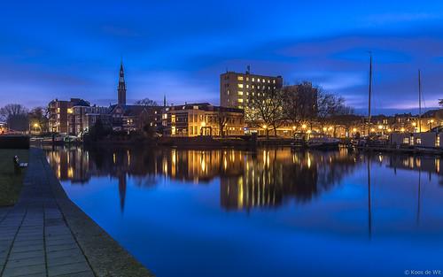 Groningen Oosterhaven @blue hour