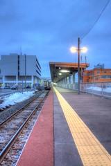 Wakkanai Station on APR 02, 2016 (7) (wakkanai097) Tags: japan nikon hokkaido jr hdr p7700