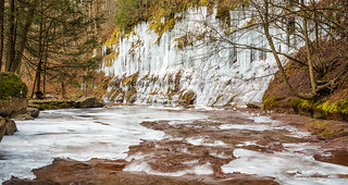 Kaaterskill Falls Icicle Wall