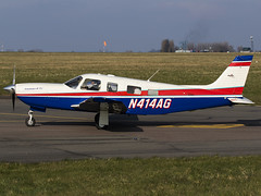 Evama North America LLC   Piper PA-32R-301T Saratoga II TC   N414AG (FlyingAnts) Tags: america saratoga north ii tc norwich piper llc nwi egsh pa32r301t saxonair piperpa32r301tsaratogaiitc n414ag evama evamanorthamericallc