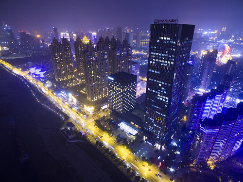 aerial view of wuhan