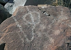 Petroglyphs / Blackrock Well Site (Ron Wolf) Tags: california abstract archaeology circle nationalpark nativeamerican salinevalley petroglyph anthropology shoshone rockart deathvalleynationalpark superimposition piute numic meanderingline bisectedcircle