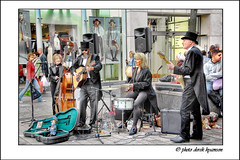 DRESSED TO CHILL (Derek Hyamson) Tags: liverpool buskers candids hdr