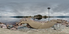 Calm Water (ba7b0y) Tags: camping panorama lake water 360 calm vrmland torsby equirectangular fryken