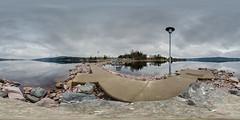 Calm Water (360x180) (ba7b0y) Tags: camping panorama lake water 360 calm 180 värmland torsby equirectangular fryken