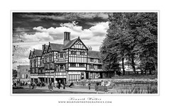 The Flying Standard - Coventry (Ken Walker Photography) Tags: blackandwhite pub coventry westmidlands trinitystreet lychgatecottages flyingstandard timberframedbuildings standardmotorcars