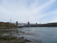 Britannia Bridge (alexliivet) Tags: bridge wales ynysmon anglesey menaistrait afonmenai britanniabridge pontbritannia walescoastpath