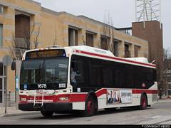 Toronto Transit Commission #1678 (vb5215's Transportation Gallery) Tags: toronto ttc transit orion ng 2008 commission vii hev
