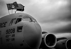 C-17A (Rodrigo Montalvo Photography) Tags: blackandwhite airplane nikon force aviation military air jet dramatic patriotic c17 boeing globemaster usaf avion aviacion unitedstatesairforce nationalmuseumoftheunitedstatesairforce c17a boeingc17 d7100 aiation rodrigomontalvo