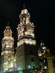 Catedral de Morelia Nocturna V (Garenez) Tags: morelia colonial catedral ciudad michoacn