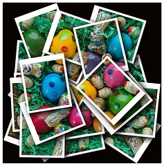 Frohe Ostern ! - Happy Easter ! (kurtwolf303) Tags: collage easter colorful 500v20f ostern bunt omd 250v10f micro43 microfourthirds olympusem1