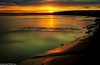 Mersey sunset (4 of 1) (andyyoung37) Tags: sunset england silhouette reflections unitedkingdom gb mersey runcorn merseyside widnes runcornbridge greatsky