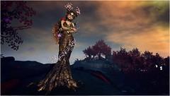 Malfience Dryad (Duchess Flux) Tags: sl fantasy secondlife dreams aisha dryad analogdog fantasyfaire catwa naminoke lepoppycock 7deadlyskins ieqed lucentia colescorner fantasyfaire2016
