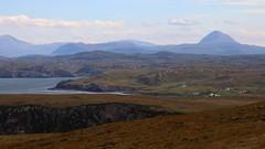 Culkein Bay, Assynt (milnefaefife) Tags: sea mountains landscape coast scotland highlands hills loch moor sutherland moorland stoer assynt culkein canisp northwesthighlands pointofstoer stoerhead culkeinbay