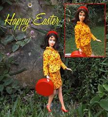 HAPPY EASTER (ModBarbieLover) Tags: 1969 easter mod doll barbie 1967 tnt marlo