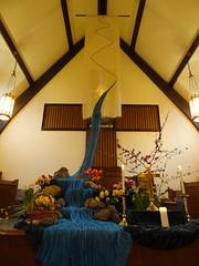 DSC04291 (Michael S in Seattle) Tags: sacredspace worshiparts wallingfordumc sanctuarydecorations easter2016 riverofbaptism