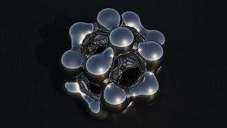 Sólidos Platónicos - Dodecahedro-Metaball